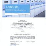 Medium Voltage Manufacturing License from SIEMENS
